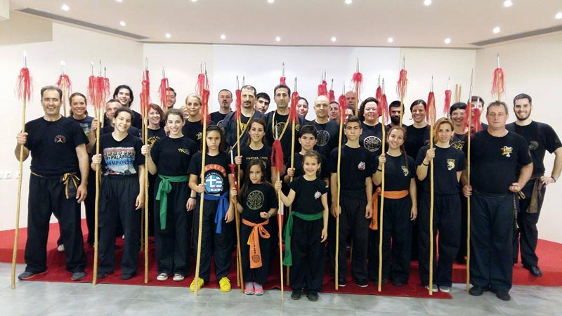 Martial Arts School - Fu Jow Pai Kung Fu - Martial Arts Seminar May 2016