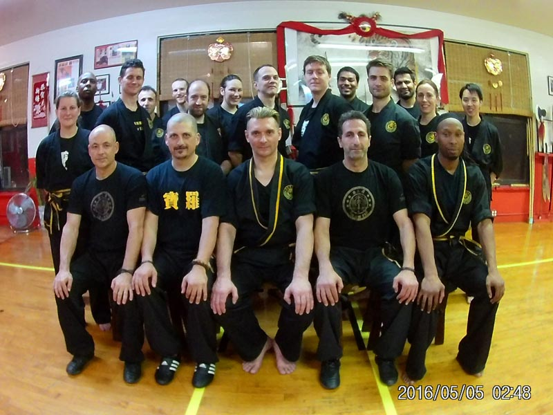 Martial Arts School - Fu Jow Pai Kung Fu - Trip to New York May 2016